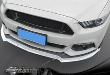For 15-17 Ford Mustang Painted White Front Bumper Body Kit Spoiler Lip 3PCS