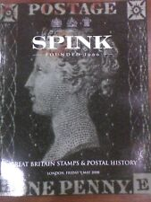 Spink May 2008 Great Britain Stamps & Postal History