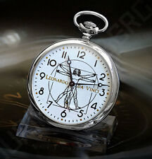 Molnija 3602 Leonardo da Vinci Russian Mechanical Pocket Watch
