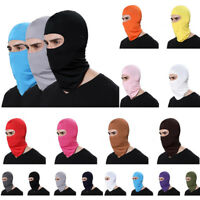 Outdoor Ski Motorcycle Cycling Balaclava Full Face Mask Neck Ultra Slim Helmet