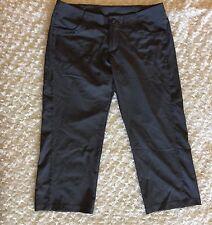 Patagonia Women's Capris Crop Pants Gray Size 8 Hiking Camping Outdoor Casual 31