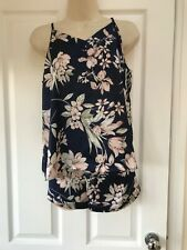 Ladies Floral Pyjamas, size small, only been worn once!