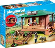 Playmobil Wild Life Ranger Station with Animal Area Set #6936
