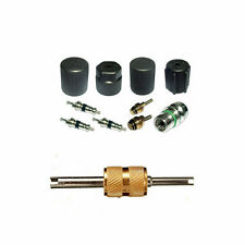 A/C AC System Valve Core and Cap Kit + Schrader Remover fit Chrysler 300 MT2908
