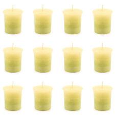 Pajoma Votivkerze Lemongras marmorierte Duftkerze 12er Pack