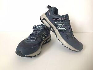 New Balance Women 410v6 Blue Trail Athletic Walking Running Shoes Sz 6D WT410LI6
