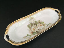 porcelain celery or relish tray BRIDAL ROSE, Hagmann
