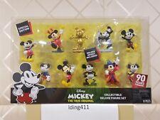 Disney Mickey The True Original - 90th Anniversary Collectible Deluxe 10 pc Set