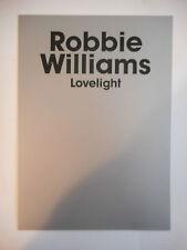 ▓ PLAN MEDIA ▓ ROBBIE WILLIAMS : LOVELIGHT