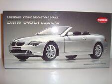BMW 645 CI CABRIO KYOSHO 1:18