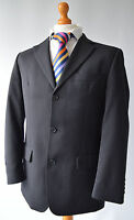 """Mens Black Ted Baker Elevated Suit, Size Chest 38"""", W32"""" L29.5""""."""