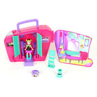 Mattel 2010 Polly Pocket Fashion Change Photo Booth T7083 Partial Set 7 Pieces