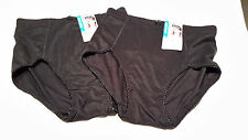 SALE 2 Pairs Black Shapewear Briefs  size XL  New with Tags