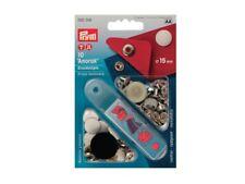 Bottoni a pressione Prym  Anorak in metallo bianco laccato da 15 mm -10pz