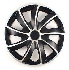 "Set di 4 16 ""rifiniture ruota, Cerchioni Per Adattarsi Audi A1, A2, A3 + regalo gratuito #O"