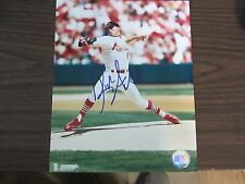 Rick Ankiel Autograph / Signed 8 X 10 Photo St. Louis Cardinals