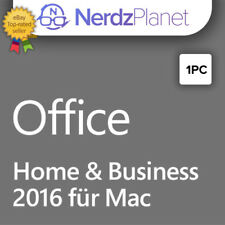 MS Microsoft Office 2016 Home and Business für MAC
