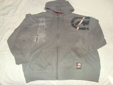 ECKO UNLTD 3X LARGE FULL ZIP HOODIE JACKET HOODIE COAT SWEAT SHIRT HEAVY COTTON