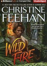 A Leopard Novel: Wild Fire 4 by Christine Feehan (2010, CD, Unabridged)