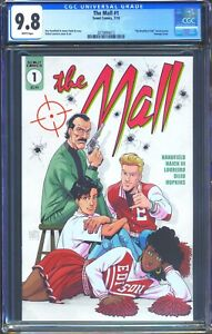 The Mall 1 (Scout) CGC 9.8 White Pages The Breakfast Club movie poster homage