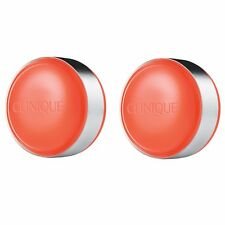 Clinique Sweet Pots Sugar Scrub & Lip Balm, 2x Orange Blossom 12g Full Size New