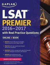 Kaplan LSAT Premier 2016-2017 with Real Practice Questions: Book + Online (Kapla