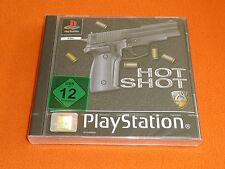 Sony PLAYSTATION GIOCO: HOT Shot! NUOVO & OVP