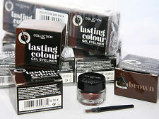 12 x Collection Lasting Colour Gel Eyeliner | Brown | RRP £60 | Wholesale