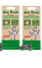 DOG ROCKS TURF LAWN GRASS URINE BURN BROWN PATCHES, 4 month supply, 2 packs