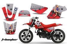 YAMAHA PW 50 Graphic Kit AMR Racing Bike Decal Sticker Part PW50 90-16 TBOMBER R