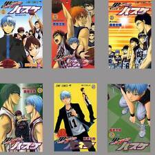 Kuroko No Basket Basuke Tadatoshi Fujimaki Japanese Anime Manga Book Vol.1-6 Set