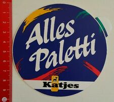 Aufkleber/Sticker: Katjes Alles Paletti (25051665)