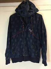 Mercibeaucoup Denim Demon Hoodie Jacket Horns Size 3 Unisex Japan
