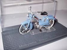 MOTO 1/24 altaya : Motobécane MOBYLETTE bleue AV88 1959