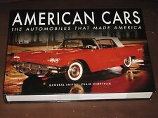 AMERICAN CARS: THE AUTOMOBILES THAT MADE AMERICA (2016) BY CRAIG CHEETHAM