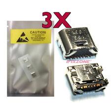"""3 X New Micro USB Charging Port Samsung Galaxy Tab E 8.0"""" SM-T375 T377 T378 USA"""