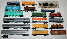 Lot of Vintage N Scale Train Cars and Extra Parts
