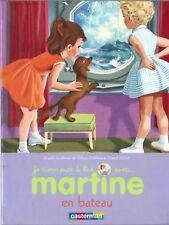 °   Je commence à lire avec... MARTINE en Bateau -  Ed. Casterman