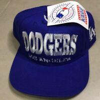 NWT LA Los Angeles Dodgers Snapback Hat Cap Boxseat Script Specialties Vintage