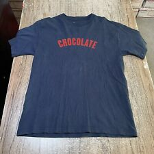 Chocolate Skateboards Men's Vintage Tee Shirt Size L #21619