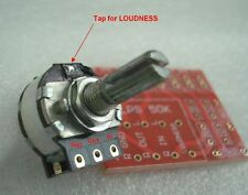 * LOUDNESS* tapped 100K DACT Type 21 Stepped Attenuator Potentiometer + FREE PCB