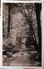 COLD CREEK, Lake County, CALIFORNIA, Photo Post Card