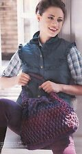 CHUNKY Autumn Boho Bag/Tote/Purse/Crochet Pattern INSTRUCTIONS ONLY