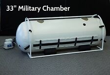 """33"""" Military Hyperbaric Oxygen Chamber - New, Latest Model, Free Shipping"""