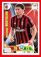CALCIATORI 2017-2018 18 - Adrenalyn Panini Card n. 225 - MONTOLIVO - MILAN