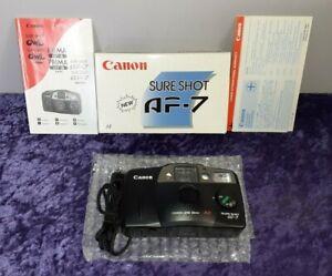 Canon Sure Shot AF-7 35mm Film Camera