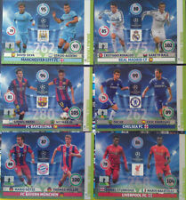 PANINI ADRENALYN CHAMPIONS LEAGUE 2014 2015 DOUBLE TROUBLE FULL SET 6 CARDS