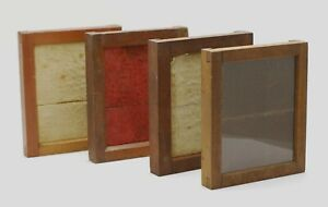4 Antique WOODEN CONTACT PRINTING FRAMES 4X5 Negative Print