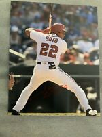 Juan Soto Signed Autographed 8x10 Photo    Washington Nationals Baseball W/COA