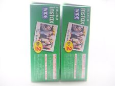 2 x FUJI INSTAX WIDE FILM 20 PACK FOR 200, 210 & 300 By 1st CLASS ROYAL MAIL